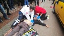 Bursa Kalp Krizi Geçiren Taksiciye Yol Ortasında Dakikalarca Kalp Masajı Yaptılar