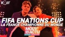 Mouv'13 Actu : eNations Cup, Drake, Booba