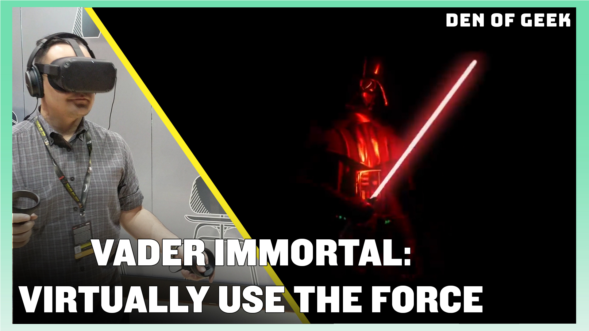 Vader Immortal: Virtually Use The Force