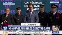 """""""Avec Notre-Dame, c'est Paris qu'ils ont sauvé"""" : l'hommage de Christophe Castaner aux pompiers"""