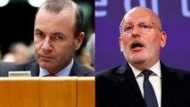 Elezioni europee: confronto tra Weber e Timmermans
