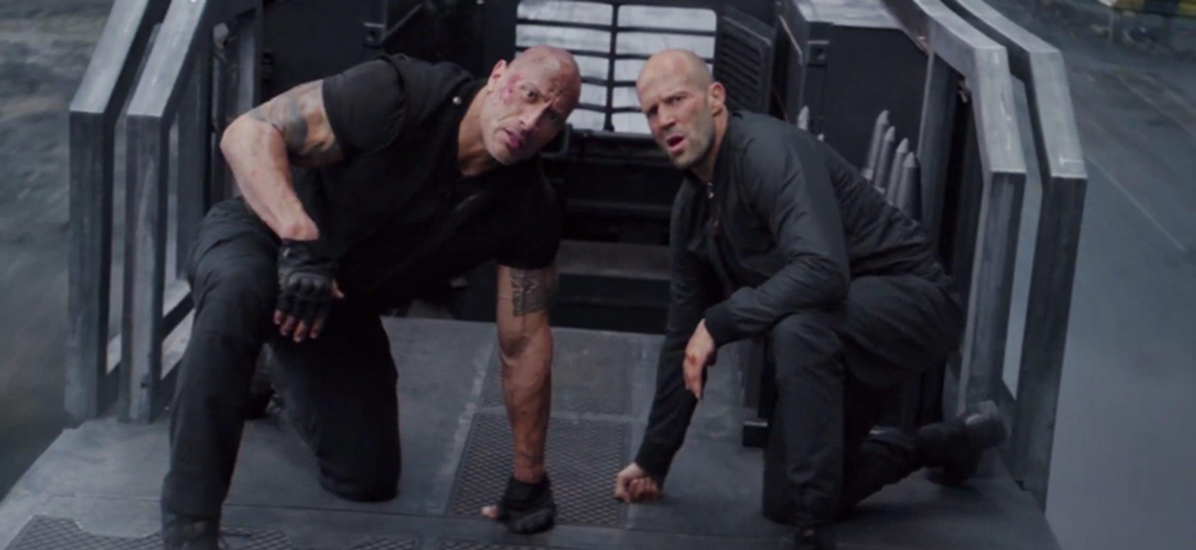 Hobbs & Shaw - Nuevo tráiler del spin-off de Fast & Furious (inglés)