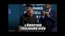 Le recteur de Notre-Dame au bord des larmes lors de l'hommage aux sauveteurs de la cathédrale