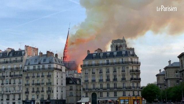 Notre-Dame : l'effondrement de la flèche en 10 points de vue