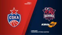 CSKA Moscow - KIROLBET Baskonia Vitoria-Gasteiz Highlights | Turkish Airlines EuroLeague PO Game 2