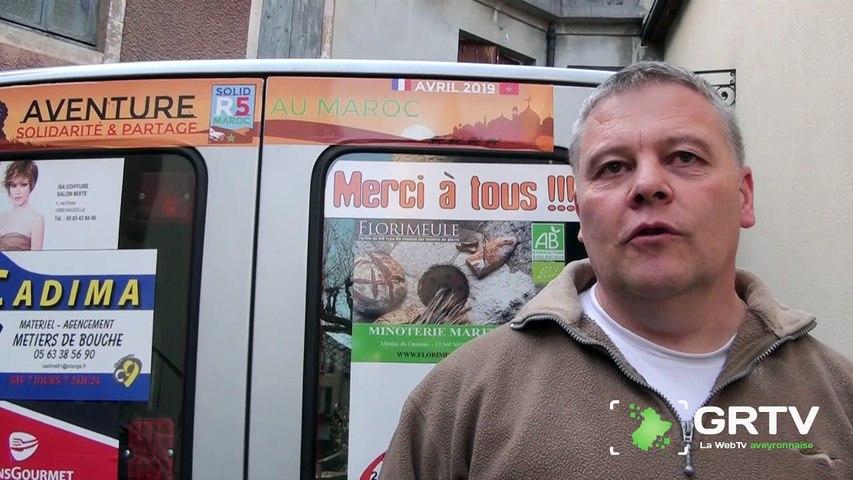 Jean-Pierre Albinet, remerciements à tous les partenaires du Raid humanitaire