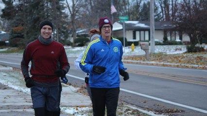 Man Runs 70 Miles to Celebrate His 70th Birthday