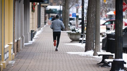 This City's Heated Sidewalks Make It A Winter Running Paradise
