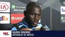 "Naples - Arsenal : ""Ça va nous faire grandir"" relativise Koulibaly"