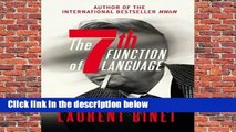 The 7th Function of Language  Best Sellers Rank : #4