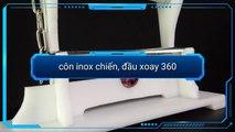 CÔN INOX CHIẾN, ĐẦU XOAY 360 tại #KANSHOP côn nhị khúc. Lớp dạy côn #KANCLUB nunchaku
