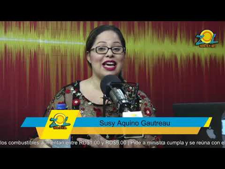 Susy Aquino Gautreau comenta situación sobre la operación de la niña Astrid Montero Gómez