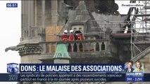 Face à la profusion de dons pour Notre-Dame, certaines associations alertent sur leur manque de moyens