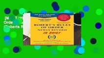 [MOST WISHED]  Robert s Rules of Order Newly Revised In Brief, 2nd edition (Roberts Rules of