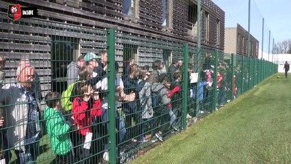 Inside avant Dijon / Stade Rennais F.C.
