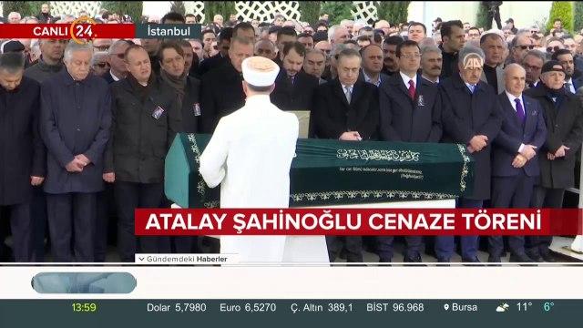 Atalay Şahinoğlu için cenaze töreni