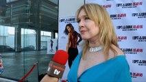 "Camille Keaton Interview ""I Spit on Your Grave: Deja Vu"" Premiere Red Carpet"