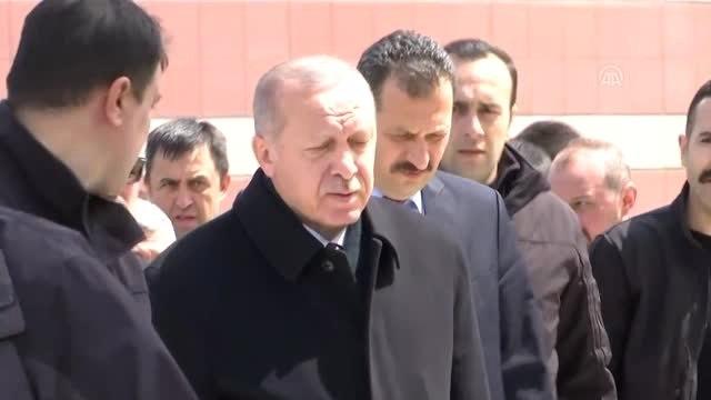 Cumhurbaşkanı Erdoğan, Atalay Şahinoğlu'nun Cenaze Namazına Katıldı