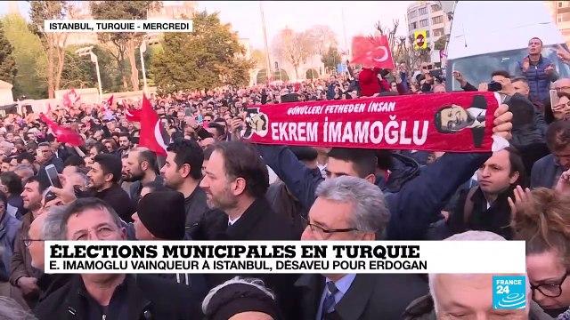 Élections municipales en Turquie : Ekrem Imamoglu vainqueur à Istanbul, désaveu pour Erdogan