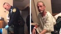 Des policiers recherchent de la marijuana dans la chambre d'hôpital d'un homme atteint du cancer du pancréas