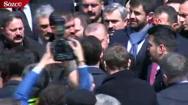 Erdoğan ve İmamoğlu böyle tokalaştı