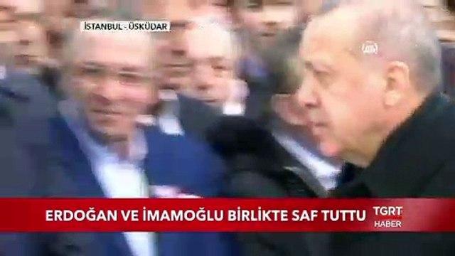 Cumhurbaşkanı Erdoğan ve İBB Başkanı İmamoğlu Birlikte Saf Tuttu