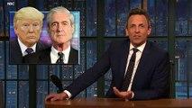 Seth Meyers Talks Mueller Report In 'A Closer Look'