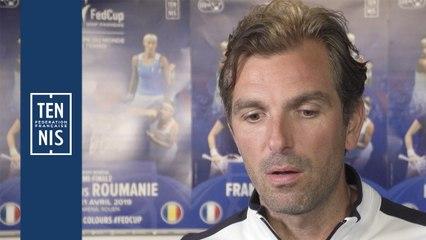 Fed Cup France-Roumanie : réactions après le tirage au sort