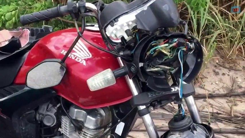 Homem morre em acidente de moto na PB 032 em Pedras de Fogo