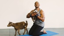 Terry Crews Goat Yoga