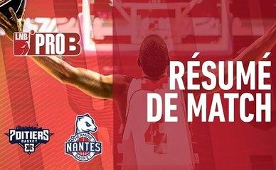PRO B : Poitiers vs Nantes (J27)