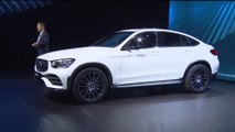 World Premiere Mercedes-Benz GLC Coupe at the 2019 NYIAS