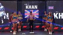 Terence Crawford and Amir Khan weigh-in ahead of title bout