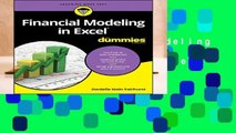 R.E.A.D Financial Modeling in Excel For Dummies (For Dummies (Lifestyle)) D.O.W.N.L.O.A.D