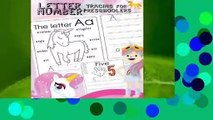 About For Books  Letter Number Tracing for Preschoolers: Alphabets Handwriting Practice with