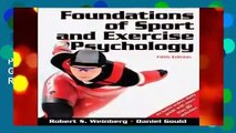 [GIFT IDEAS] Foundations of Sport and Exercise Psychology W/Web Study Guide-5th Edition by Robert