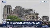 Notre-Dame: une plainte déposée contre un site de dons frauduleux