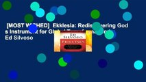 [MOST WISHED]  Ekklesia: Rediscovering God s Instrument for Global Transformation by Ed Silvoso