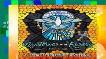 [NEW RELEASES]  Mysteries of the Rosary: A Catholic Coloring Devotional: Catholic Bible Verse