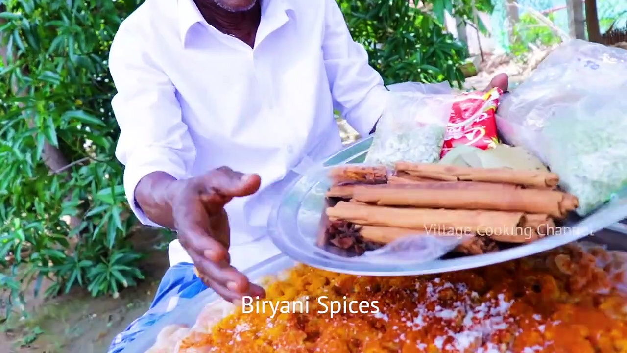 Prawns Biryani _ Grandpa Cooking Shrimp Biryani recipe villagecooking villagefood,…..