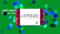 [GIFT IDEAS] The Screwtape Letters by C. S. Lewis
