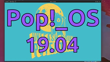 Taking a Look at Pop!_OS 19.04