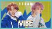 [HOT] 1TEAM -  VIBE ,  1TEAM - 습관적 VIBE  Show Music core 20190420