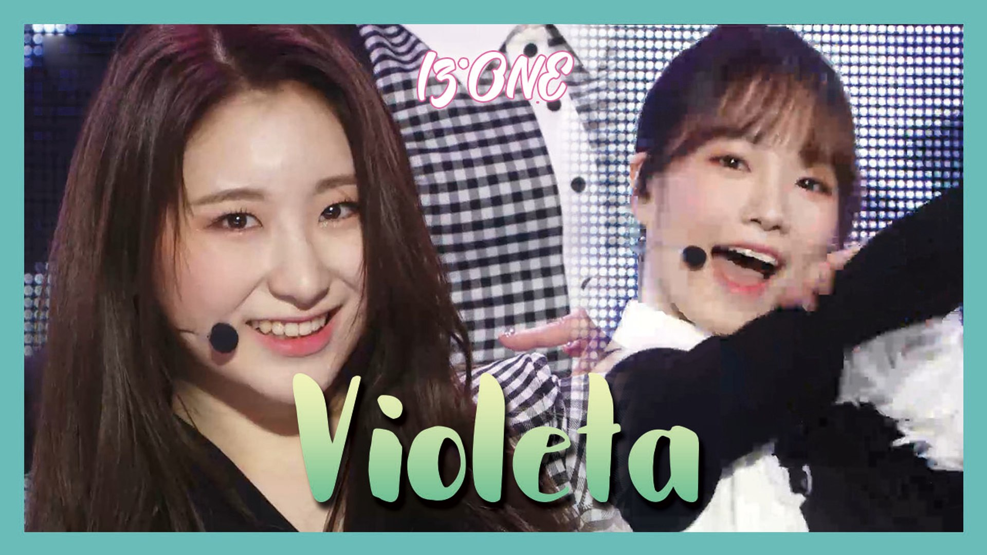 [HOT] IZ*ONE  - Violeta ,  아이즈원 - 비올레타  Show Music core 20190420