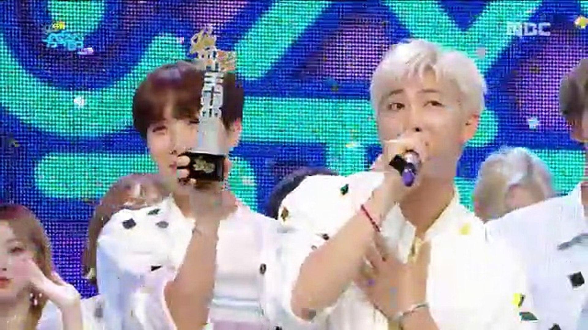 [HOT] 4월 3주차 1위 방탄소년단 - 작은 것들을 위한 시(BTS  - Boy With Luv) Show Music core