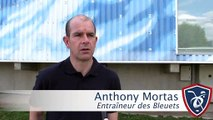 Mondial U18 D1A. La réaction d'Anthony Mortas après quatre journées