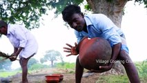 Snail Catching and Eating _ Snail Cooking with Primitive technology escargots recipe village food...