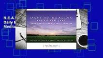 R.E.A.D Days of Healing Days of Joy: Daily Meditations for Adult Children (Hazelden Meditations)
