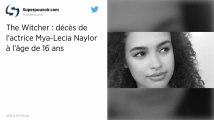 Mya-Lecia Naylor, une jeune actrice britannique, décède à l'âge de 16 ans