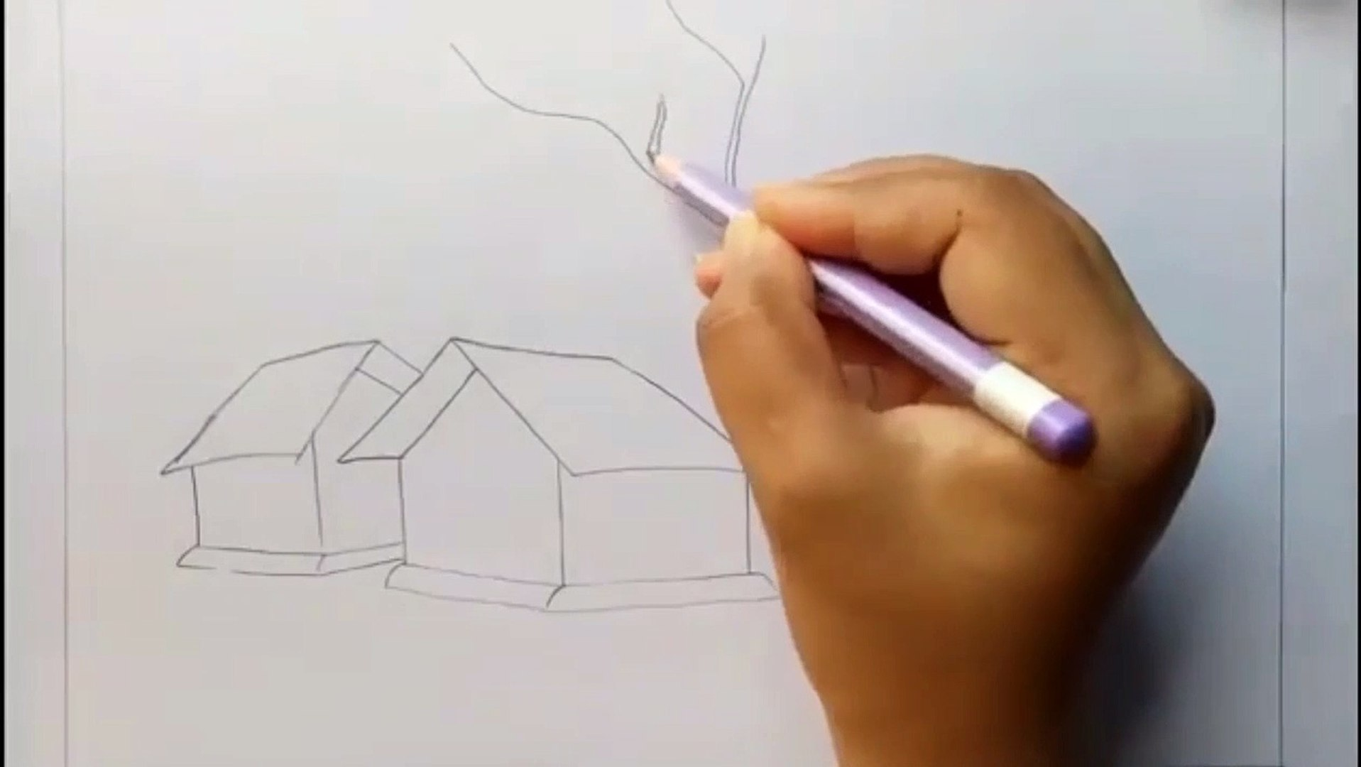 Amazing Art How To Draw Scenery Of Light And Shadow By Pencil Sketch Art N Tricks